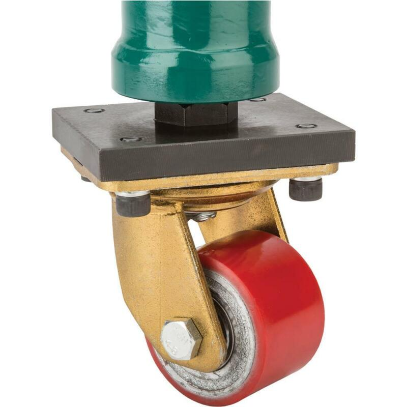 """Grizzly T30676 30"""" Support Leg with Swivel Caster"""
