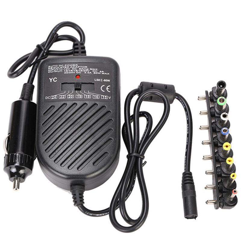 Car Laptop Charger Notebook Computer DC Adapter For HP ASUS