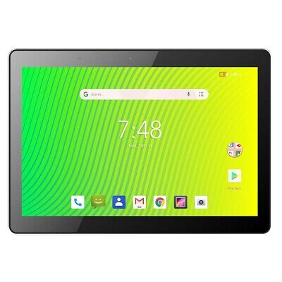 "Hyundai Koral 10X3 10.1"" HD Quad Core 32GB Android Tablet, Silver"