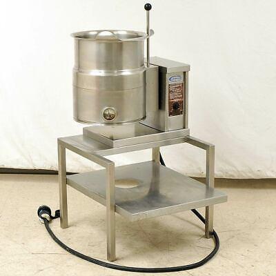 Cleveland Ttcte-24 Tilt Kettle 6-gallon Electric 208-240v 3phase Stainless Steel