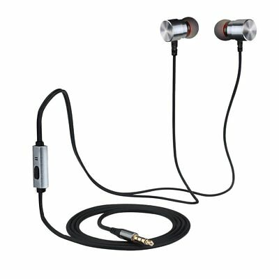 Mpow Wired Earphones, Premium 3.5mm Handsfree Earbuds with Mic