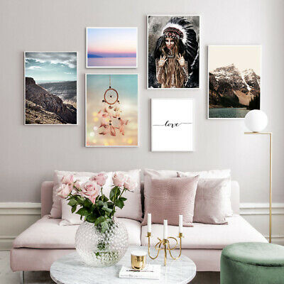 Love Fashion Poster Landscape Wall Art Canvas Print Modern Decoration Picture