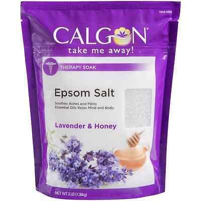 Calgon Epsom Salt  Lavender   Honey 48 Oz