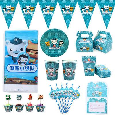 Octonauts Children Kids Theme Birthday Party Supply Tableware & Serveware Range - Party Serveware Supplies