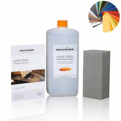 Brown Waxy Leder (COLOURLOCK® Leder Fresh Tönung 1000 ml Volkswagen waxy brown)