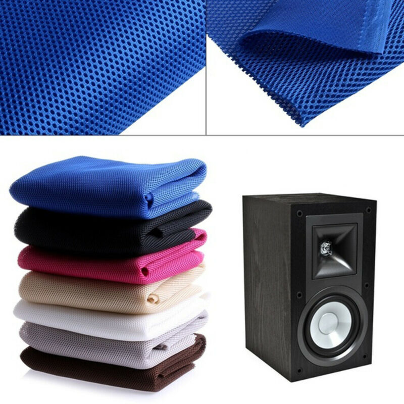 Mesh Speaker Audio Cloth Cloth Stereo Grille