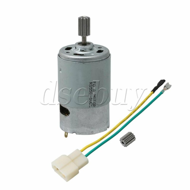 Electric Motor High Speed 6V Motor Gearbox Children Car Replace 550 14000 RPM