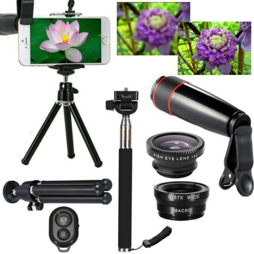 10 in 1 Accessories Phone Camera Lens Top Travel Kit For Cel