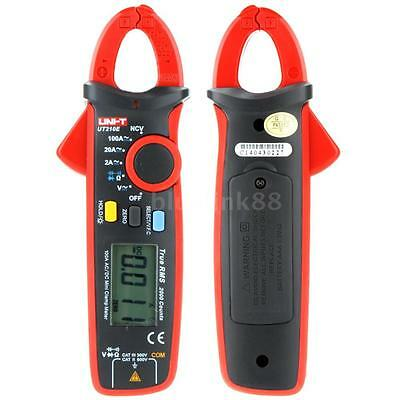 Uni-t Ut210e True Rms Acdc Current Clamp Meter W Capacitance Tester Handheld