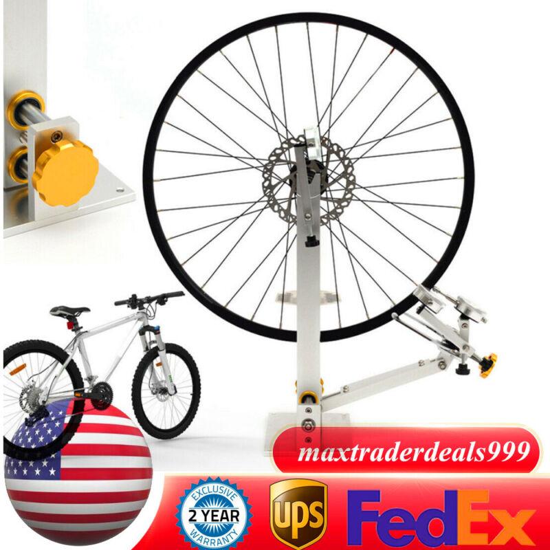 "Bicycle Maintenance Truing Stand 10-29"" Bike Wheel Repair Platform Mechanic Tool"