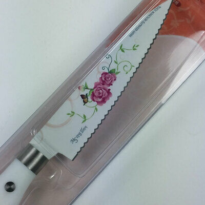 High quality Cutlery stainless steel rose coating  Kitchen Knife saw blade kor