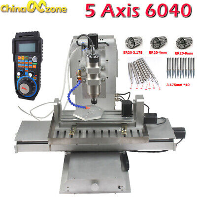 CNC 6040 5axis 2.2KW Router Engraving Machine Metal Milling Desktop DIY Machine for sale  Shipping to Canada