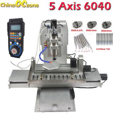 Cnc 6040 5axis 2.2kw Router Engraving Machine Metal Milling Desktop Diy Machine