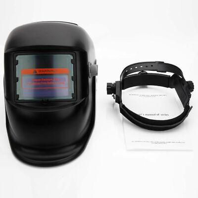 Solar Powered Auto Darkening Welding Helmet Grinding Welder Mask