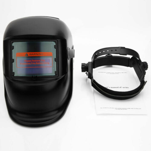 Solar Powered Auto Darkening Welding Helmet Grinding Welder Mask