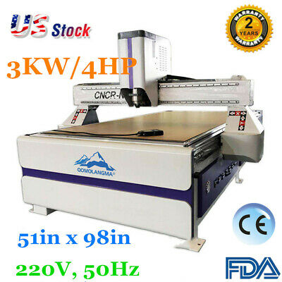51x 98in Multifunctional Cnc Routers Woodworking Engraving Routers Vacuum System