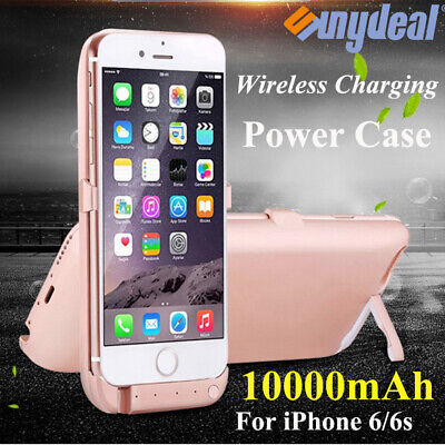 Battery External Power Charger Case Charging Cover For iPhone 6 6S 7 8 Plus