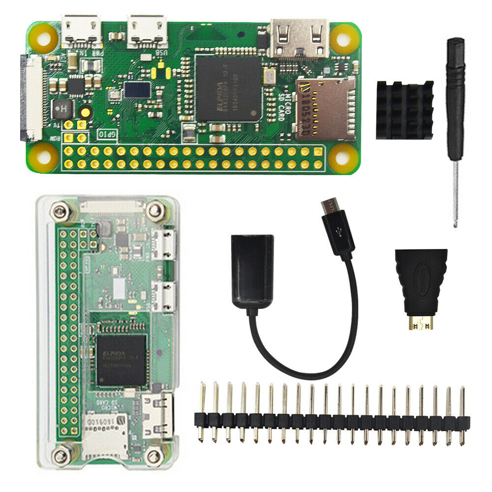 Raspberry Pi Zero W starter kit 1GHz CPU 512MB RAM with WI-F