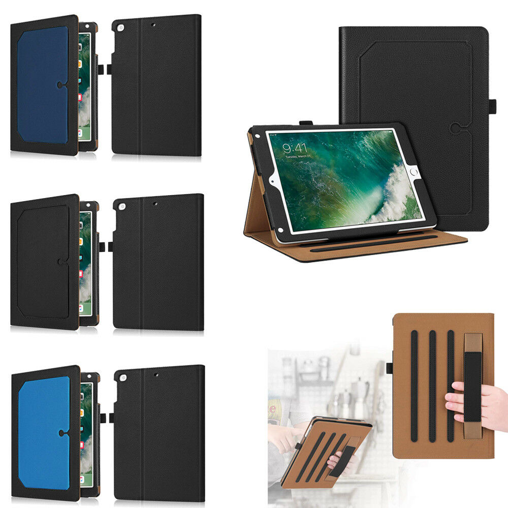 Fintie Multi-Angle w/Hand Strap Folio Case for iPad 9.7 2018