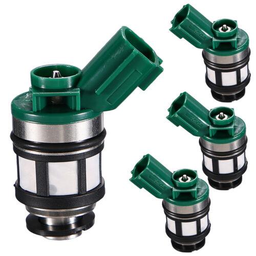 4x OEM Fuel Injectors For 96-04 Nissan Pickup Frontier Xterra 2.4L JS4D-2 New NJ
