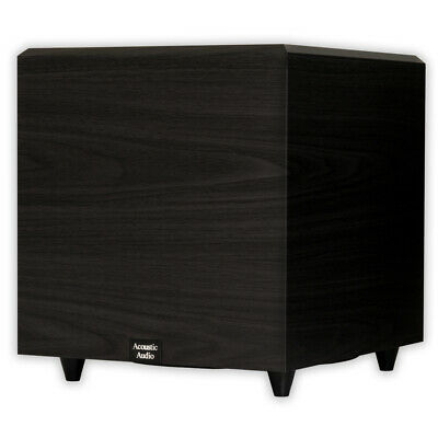 "Acoustic Audio PSW12 Home Theater Powered 12"" Subwoofer Blac"