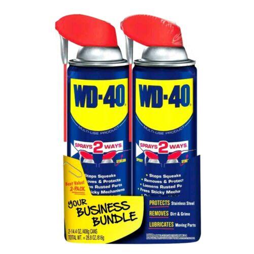 WD-40 Multi - Use with Smart Straw SPRAYS 2 WAYS, 14.4 OZ - Pack Of (2)