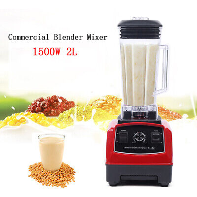 Professional Commercial Crusing Ice Blender Frozen Desser Shakes Mixer 2000ml