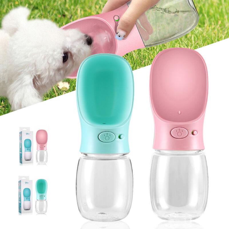 350ml/550ml Hunde Wasserflasche Trinkflasche Trinknapf Wassernapf Reiseflasche