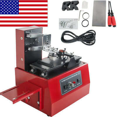 Electric Pad Printer Printing Machine Diy Bottle Cup Inkprint Pvc Mug Pen Logo