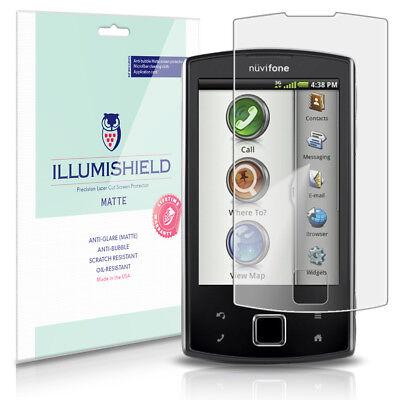 iLLumiShield Anti-Glare Matte Screen Protector 3x for Garmin ASUS nuvifone A50