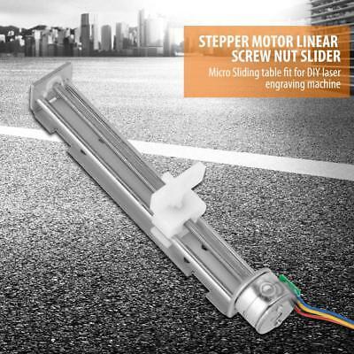 Dc12v Stepper Motor With Linear Screw Nut Slider For Diy Laser Engraving Machine