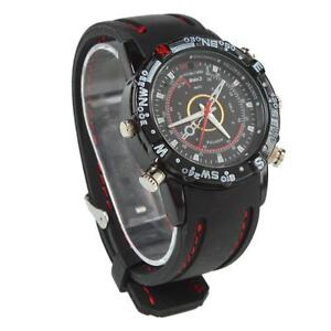 8GB HD Watch Camera 720x480 Digital Video Recorder DVR Cam Waterproof Camcorder