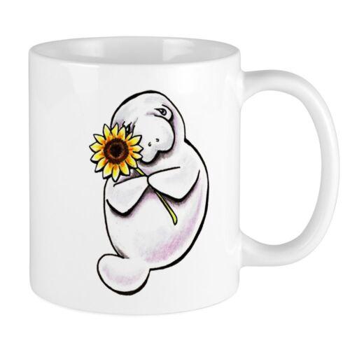 11oz mugunny Manatees - White Ceramic Coffee Tea Cup Gift