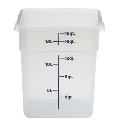 Cambro Food Storage Container - Camsquare 18 Qt Polypropylene