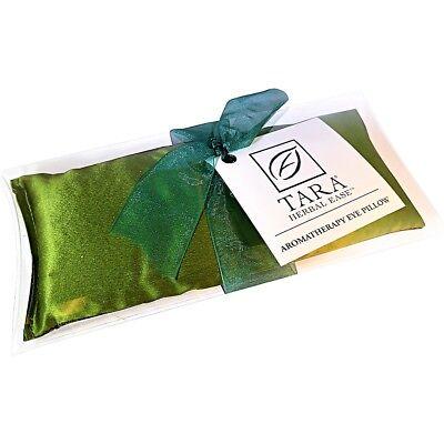 Tara Herbal Ease Silk Eye Pillow Green Olive (Herbal Comfort Eye)