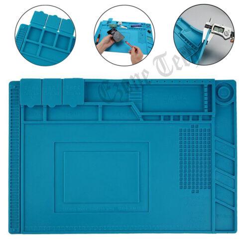 Phone Repair Silicone Pad Magnetic Work Mat Heat Insulation Soldering Iron