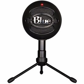 Blue Microphones Snowball HD Wired USB Microphone - Black