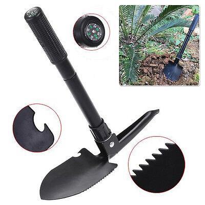 Multi-function Outdoor Camping Survival Alloy Shovel Folding Graden Yard Tool