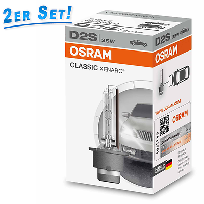Osram D2S 35W P32d-2 Xenon Xenarc Classic 2st. 66240CLC
