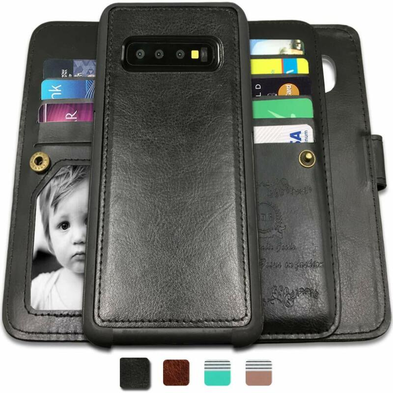 Samsung Galaxy S10 Plus Case / Galaxy S10 Case Flip Cover Wa