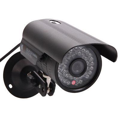 1200TVL HD Color Outdoor CCTV Surveillance Security Camera 36IR Day Night Video