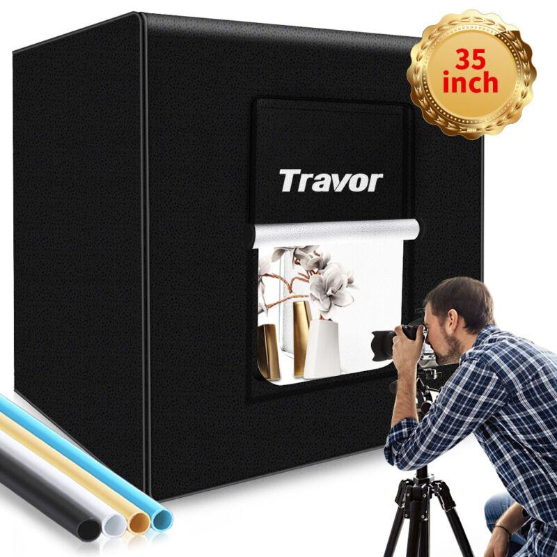 USB LED Photo Studio Light Box Portable Folding Photography Shooting Tent Kit