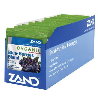 Zand HerbaLozenge Organic Blue-Berries