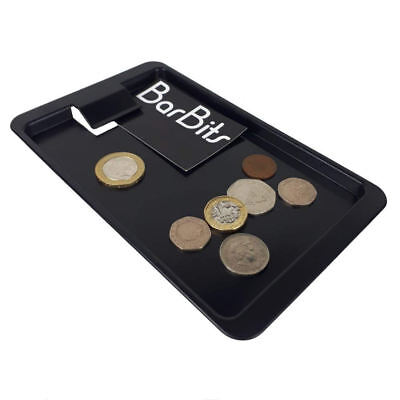 12 BarBits Plastic Tip Tray With Clip - Bill Presenter Cash Change Holder Trays
