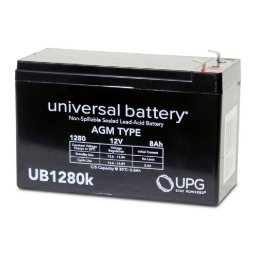 new upg 12v 8ah apc back ups