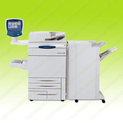 Xerox Workcentre 7775 Laser Color Multifunction Copy Print Scan Finisher 75ppm
