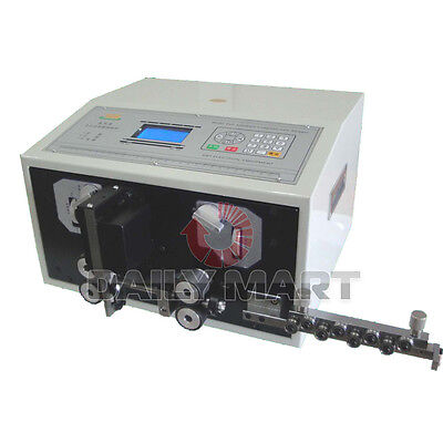 New Swt508-e Computer Thick Cable Wire Peeling Stripping Cutting Machine 0.2-8mm