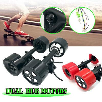 2 Color 6364 Electric Skateboard Longboard Dual Hub Motors Drive Parts Brushless