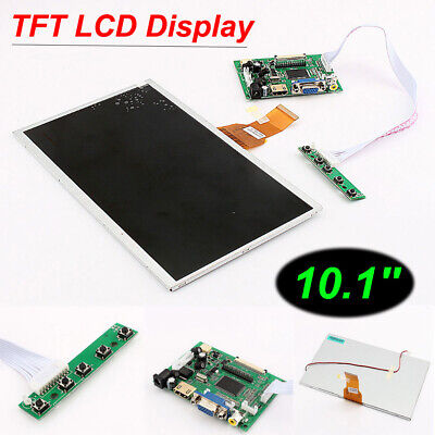10.1 Hdmi Touch Screen Tft Lcd Panel Module Shield 1024x600 For Raspberry Pi