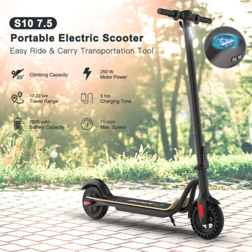Megawheels S1&s10 Folding Electric Scooter Adult Kids E-Scoo